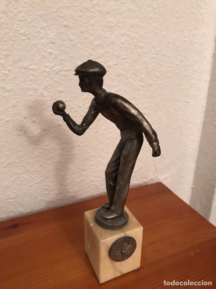 ANTIGUO TROFEO DE PETANCA (Coleccionismo Deportivo - Medallas, Monedas y Trofeos - Otros deportes)