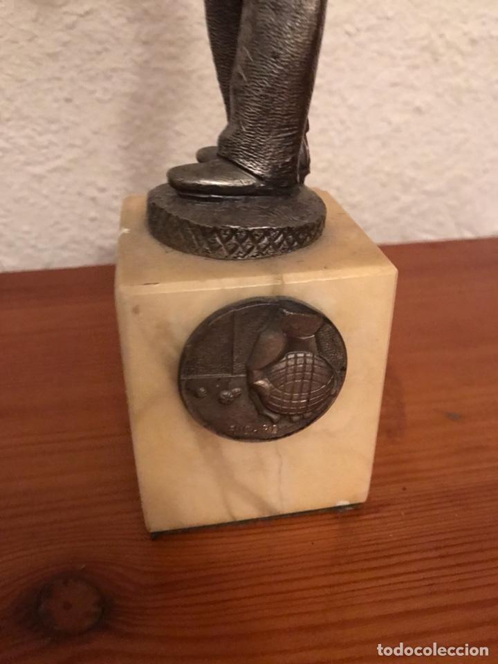 Coleccionismo deportivo: Antiguo trofeo de petanca - Foto 2 - 122479514