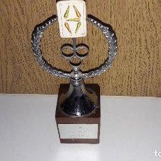 Coleccionismo deportivo: TROFEO DE MUS....CAMPENATO DE MUS...ASTIMEF...83......CAMPEÓN.. .... Lote 122763299