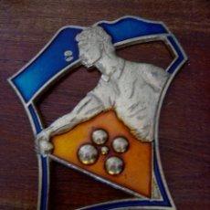 Coleccionismo deportivo: INSIGNIA O TROFEO DE PETANCA. Lote 122916167