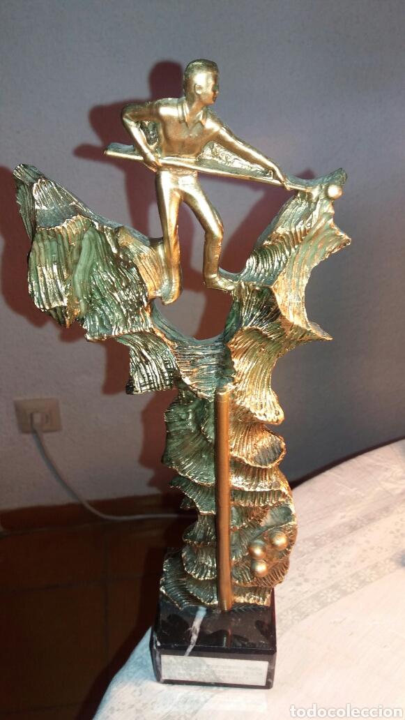 TROFEO DE BILLAR 2007 (Coleccionismo Deportivo - Medallas, Monedas y Trofeos - Otros deportes)