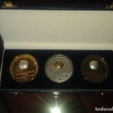 Coleccionismo deportivo: JUEGO DE MEDALLAS DEL V CAMPEONATO DEL MUNDO UNIVERSITARIO DE GOLF. Lote 127672847
