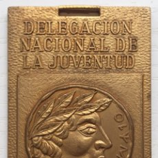 Coleccionismo deportivo: MEDALLA XXII JUEGOS ESCOLARES NACIONALES - SANTANDER 1970 - DELEGACIÓN NACIONAL DE JUVENTUD OJE. Lote 128139703