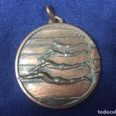 Coleccionismo deportivo: MEDALLA BRONCE NATACIÓN DEPORTES ACUÁTICOS PADRES DE FAMILIA COLEGIO PARAÍSO CURSO ESCOLAR 1973 1974. Lote 128621839