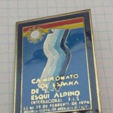 Coleccionismo deportivo: CAMPEONATO DE ESPAÑA DE ESQUÍ ALPINO 1976. Lote 129603334