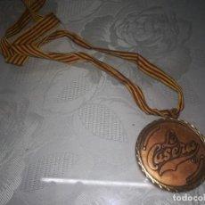 Collectionnisme sportif: RARA MEDALLA DE PUBLICIDAD DE LA CASERA MIREN FOTOS . Lote 132115834