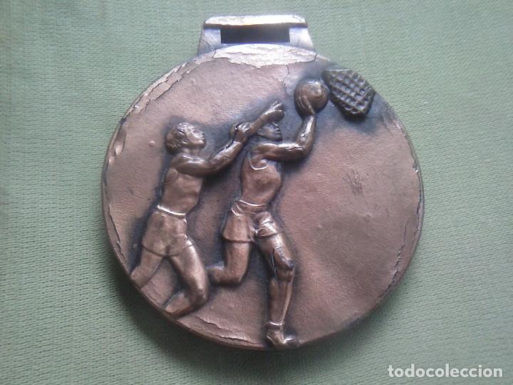 MEDALLA BALONCESTO. SIN INSCRIPCIONES. (Coleccionismo Deportivo - Medallas, Monedas y Trofeos - Otros deportes)