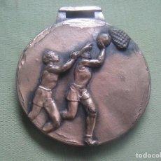 Coleccionismo deportivo: MEDALLA BALONCESTO. SIN INSCRIPCIONES.. Lote 132746950