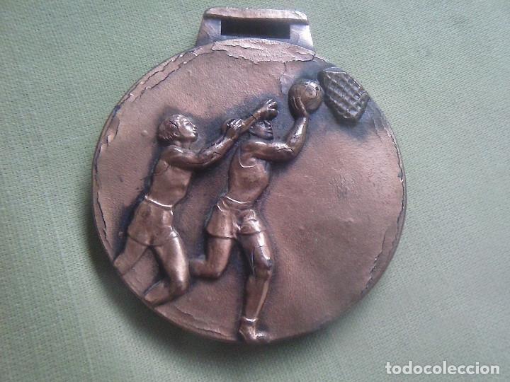 Coleccionismo deportivo: Medalla Baloncesto. Sin Inscripciones. - Foto 3 - 132746950