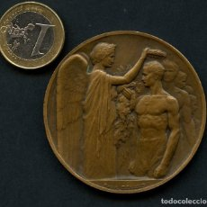 Coleccionismo deportivo: MEDALLA, PARIS OLYMPIC GAMES, PARTICIPATION, MEDAL FRANCE, 1922. Lote 132825198