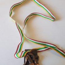 Coleccionismo deportivo: ANTIGUA MEDALLA CROSS HERMANOS CALVE CENICERO 1982 - CAR104. Lote 132944482