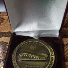 Coleccionismo deportivo: MEDALLA BALONCESTO EUROBASKET HELLAS '87. Lote 133572178