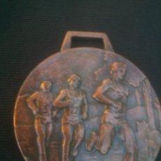 Coleccionismo deportivo: MEDALLA MEDALLÓN DE ATLETISMO. MARATON CIUDAD DE VALLADOLID . Lote 135626290