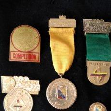 Coleccionismo deportivo: MEDALLAS TIRO DEPORTIVO. Lote 136112130