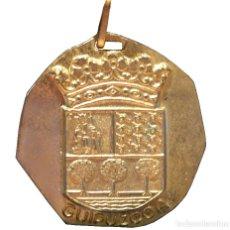 Coleccionismo deportivo: MEDALLA EN BRONCE TOLOSA GUIPUZCOA CAMPEONATO DE ESPAÑA CLUBES VETERANOS 1972. Lote 97556123