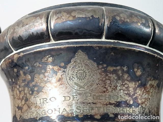 Coleccionismo deportivo: copa de tiro pichon. Union española de explosivos. tarragona septiembre 1946 - Foto 5 - 140510374