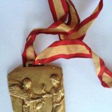 Coleccionismo deportivo: MEDALLA DELEGACION NACIONAL JUVENTUDES XXI JUEGOS ESCOLARES NACIONALES CAMPEON INFANTIL MADRID 1969. Lote 142361750
