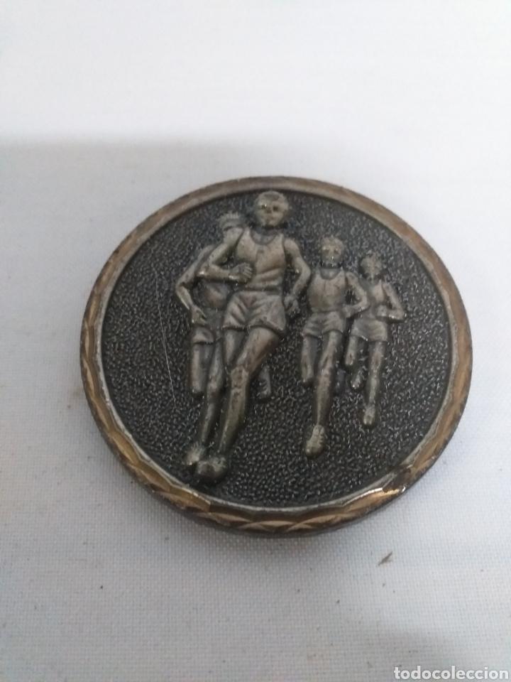 TROFEO DE BRONCE FORJADO. ATLETISMO (Coleccionismo Deportivo - Medallas, Monedas y Trofeos - Otros deportes)