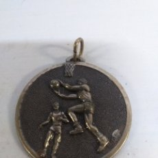 Colecionismo desportivo: MEDALLA DE BRONCE DE BALONCESTO. CEBRIAN.. Lote 142988389