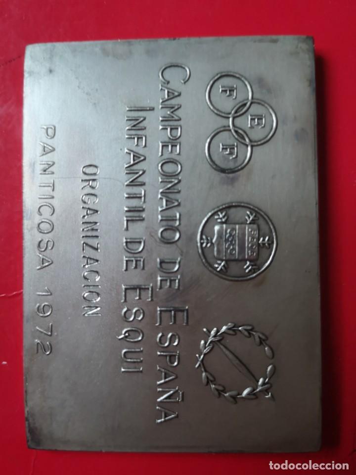 Coleccionismo deportivo: Campeonato de España infantil de esquí 1972 - Foto 2 - 143023214