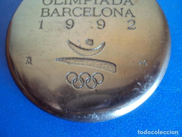Coleccionismo deportivo: (F-181234)MEDALLA XXV OLIMPIADA BARCELONA 1992 - XAVIER CORBERÓ, DE LA F.N.M.T. COOB92 - Foto 4 - 143866630