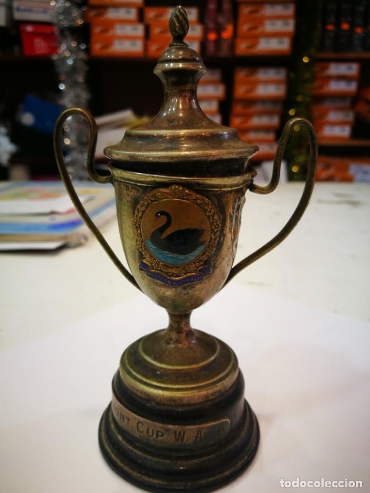 TROFEO THE BEL MONT CUP W.A. 1913 WESTERN AUSTRALIA LEER DESCRIPCIÓN (Coleccionismo Deportivo - Medallas, Monedas y Trofeos - Otros deportes)