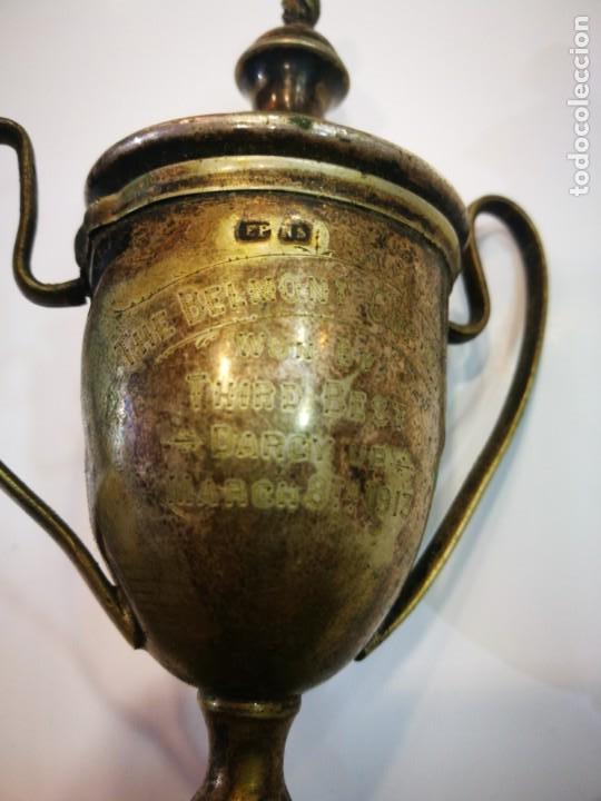 Coleccionismo deportivo: Trofeo The Bel Mont Cup W.A. 1913 Western Australia leer descripción - Foto 6 - 144615082