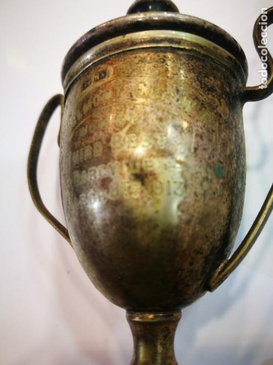 Coleccionismo deportivo: Trofeo The Bel Mont Cup W.A. 1913 Western Australia leer descripción - Foto 7 - 144615082