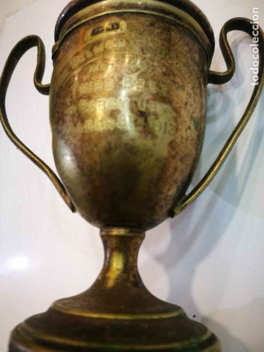 Coleccionismo deportivo: Trofeo The Bel Mont Cup W.A. 1913 Western Australia leer descripción - Foto 8 - 144615082