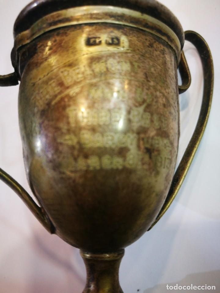 Coleccionismo deportivo: Trofeo The Bel Mont Cup W.A. 1913 Western Australia leer descripción - Foto 9 - 144615082