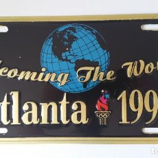 Sports collectibles - Placa conmemorativa Olimpiadas ATLANTA 1996 - 145523534