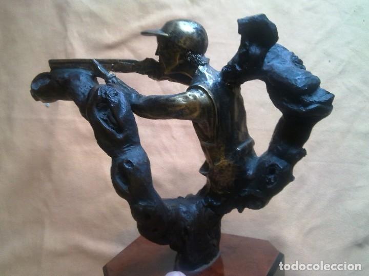 Coleccionismo deportivo: TROFEO DE TIRO AL PLATO. - Foto 3 - 146778058