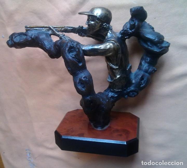 Coleccionismo deportivo: TROFEO DE TIRO AL PLATO. - Foto 18 - 146778058