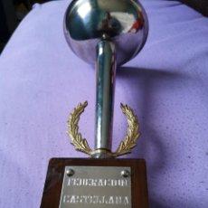 Coleccionismo deportivo: TROFEO FEDERACIÓN CASTELLANA DE CICLISMO 1980. Lote 147715990