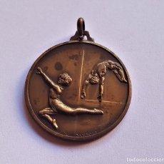 Sports collectibles - MEDALLA DE BRONCE GIMNASIA - 32.MM DIAMETRO - 148470678