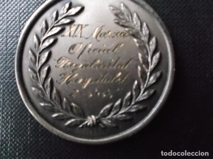 Coleccionismo deportivo: medalla de la marcha de la regularidad 1955 Hospitalet - Foto 5 - 149438022