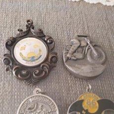 Coleccionismo deportivo: MEDALLAS MOTO CLUB CONCENTRACIONES AÑOS 81-86-87 VER DESCRIPCIÓN. Lote 221943263
