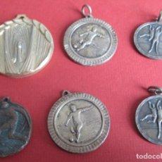 Sports collectibles - 6 medallas deportes - 152687794