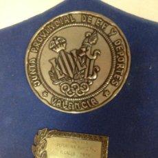 Coleccionismo deportivo: JUNTA PROVINCIAL DE EDUCACION FISICA Y DEPORTES VALENCIA 1974. Lote 153958258