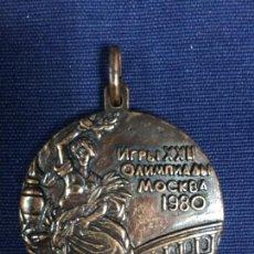 Sports collectibles - MEDALLA BRONCE OLIMPIADAS MOSCU RUSIA 1980 JUEGOS OLIMPICOS 4CMS - 154288466