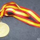Coleccionismo deportivo: MEDALLA DE ORO CON CINTA ESPAÑA - SIN INSCRIPCIONES - SIN USAR - CAR11. Lote 154512378
