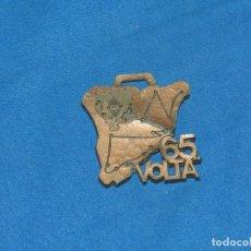 Coleccionismo deportivo: (M) MEDALLA CICLISMO VOLTA CICLISTA A CATALUNYA , 65 VOLTA UES , 66 CM, SEÑALES DE USO. Lote 155923858