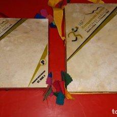 Coleccionismo deportivo: DOS TROFEOS DEL 16º CAMPEONATO IBERICO ORIENTACION CELEBRADO DICIEMBRE 2008 EN PORTUGAL. Lote 155982978