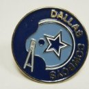 Coleccionismo deportivo: 319-DALLAS COWBOYS NFL 1971 ANTIGUA CHAPA ORIGINAL DECORATIVA 7 CMS. Lote 158012946
