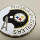 Coleccionismo deportivo: 319-PITTSBURGH STEELERS NFL 1971 ANTIGUA CHAPA ORIGINAL DECORATIVA 7 CMS. Lote 158013154