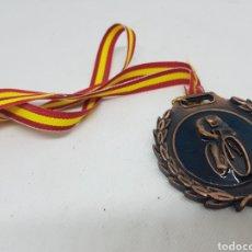 Colecionismo desportivo: MEDALLA DE CICLISMO SIN INSCRIPCIONES - CAR142. Lote 159663684
