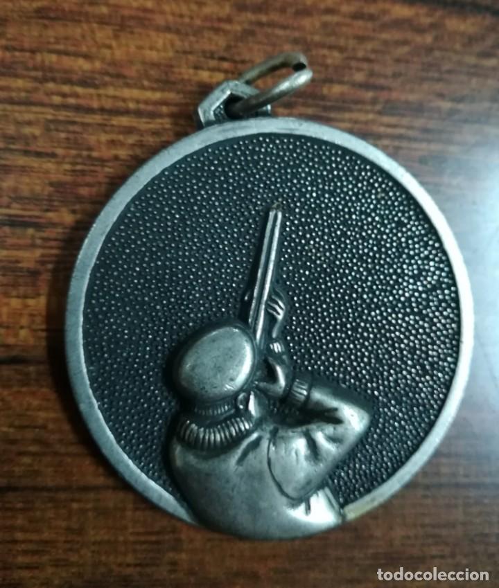 ANTIGUA MEDALLA CAZA TIRO (Coleccionismo Deportivo - Medallas, Monedas y Trofeos - Otros deportes)