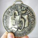 Coleccionismo deportivo: ENORME MEDALLA CONMEMORATIVA CLUB DE GOLF SCORPION BETERA VALENCIA 25 ANIVERSARIO. Lote 160796350