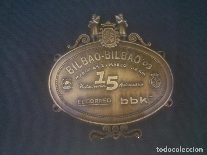 MARTXOAK BILBAO BRONCE (Coleccionismo Deportivo - Medallas, Monedas y Trofeos - Otros deportes)