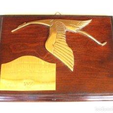 Coleccionismo deportivo: PLACA METOPA TROFEO HISPANO SUIZA AÑO 1990. Lote 161253730